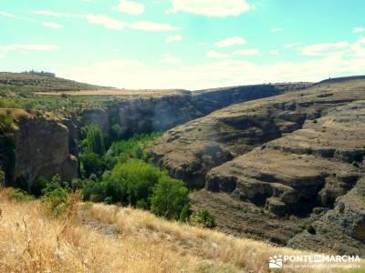 Piragüismo Hoces del Río Duratón;castañar del tiemblo camino smith excursiones madrid
